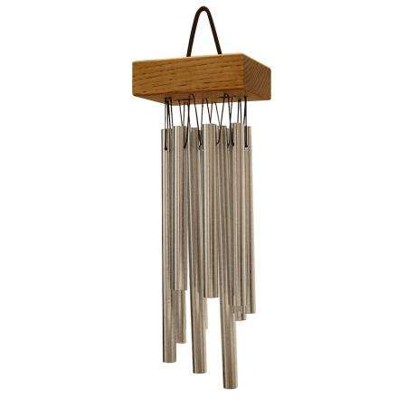 TreeWorks 11-Bar Small Cluster Wind Chimes (Pin Chimes)