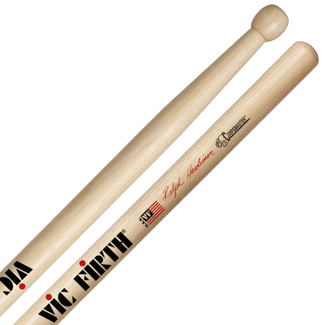 Vic Firth SRHTS Ralph Hardimon Corpsmaster Signature Marching Tenor Sticks
