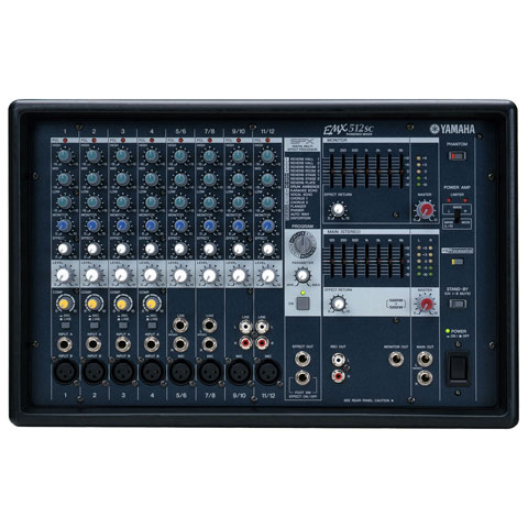 Yamaha EMX Series Powered Mixer (2 x 500W)