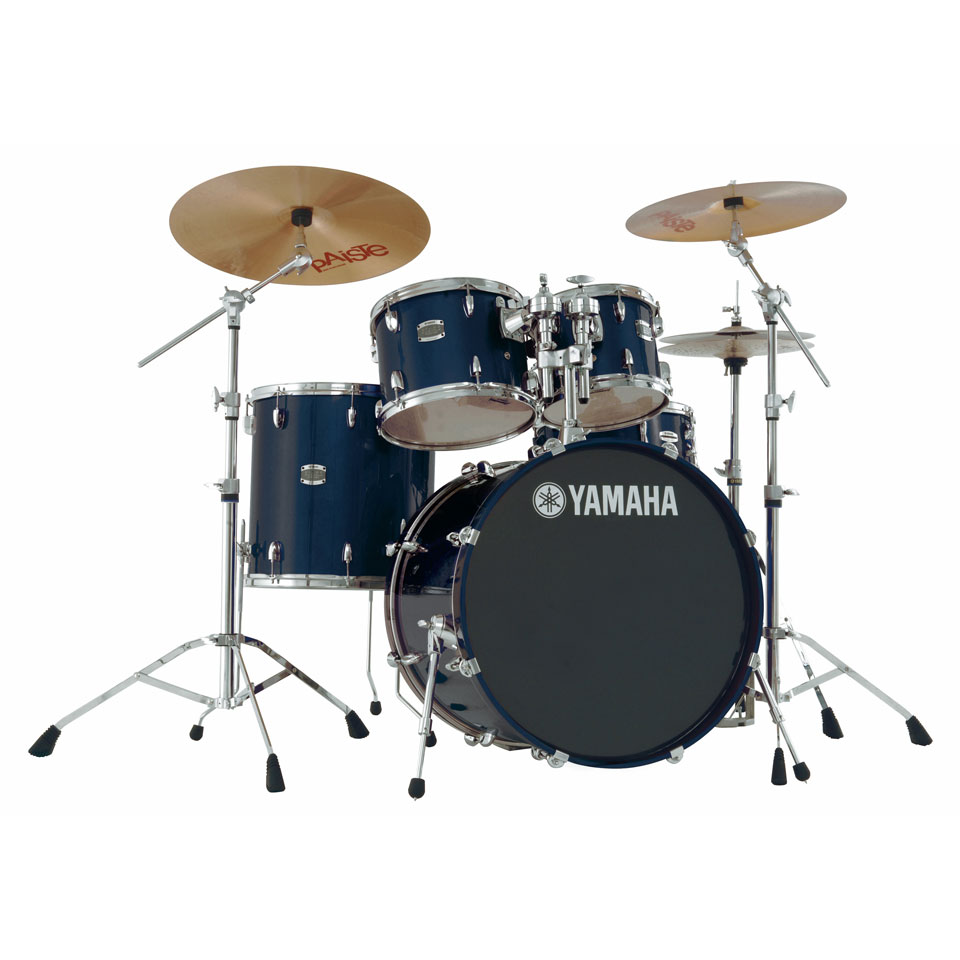 yamaha stage custom birch 5 piece drum set with hardware. Black Bedroom Furniture Sets. Home Design Ideas