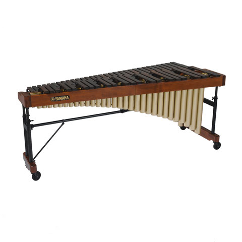Yamaha 4.3 Rosewood Cadenza Marimba with drop cover