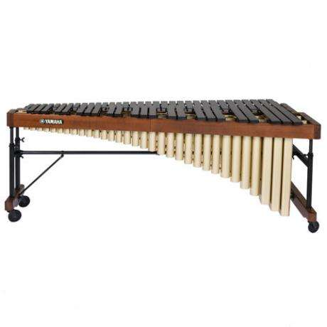 Yamaha 4.5 Rosewood Recitalist Marimba with drop cover