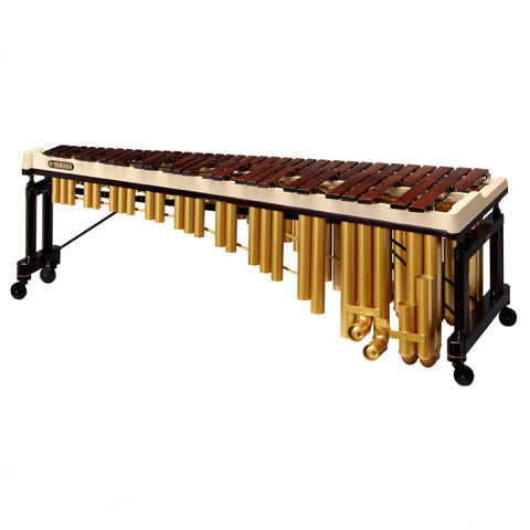 Yamaha 5.0 Rosewood Marimba with cover