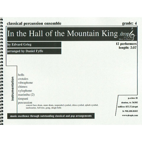 In the Hall of the Mountain King by Grieg arr. D. Fyffe