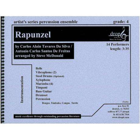 Rapunzel by Carlos Da Silva and Antonio De Freitas arr. McDonald