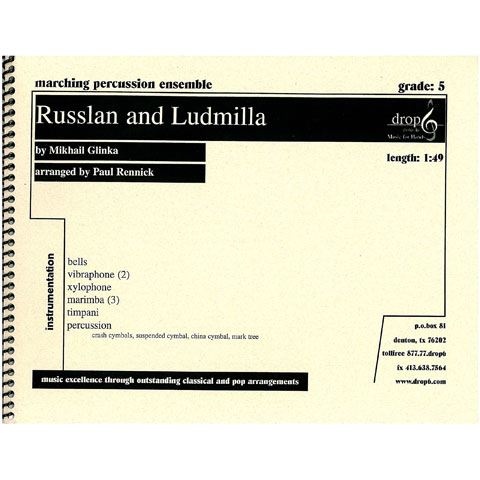 Russlan and Ludmilla by Glinka arr. Rennick