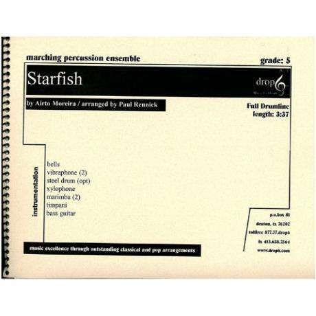 Starfish by Airto Moreira arr. Rennick