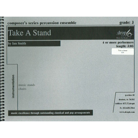 Take A Stand by Ian Smith