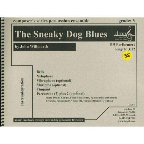 The Sneaky Dog Blues by John Willmarth
