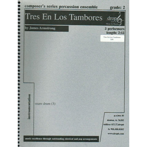 Tres En Los Tambores by James Armstrong