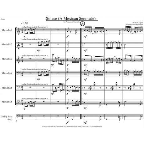 Solace by Scott Joplin arr. Mayhue