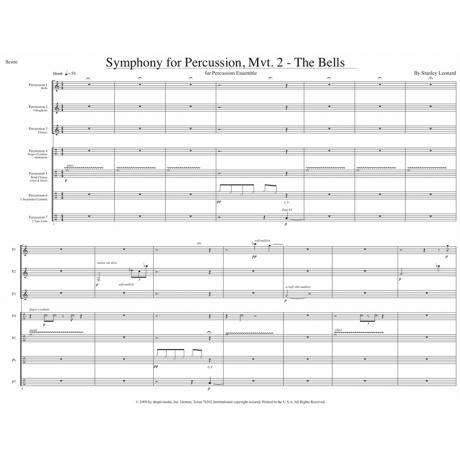 Symphony for Percussion, Mvt. 2: The Bells by Stanley Leonard