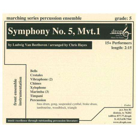 Symphony No. 5, Mvt. 1 by Beethoven arr. Chris Hayes