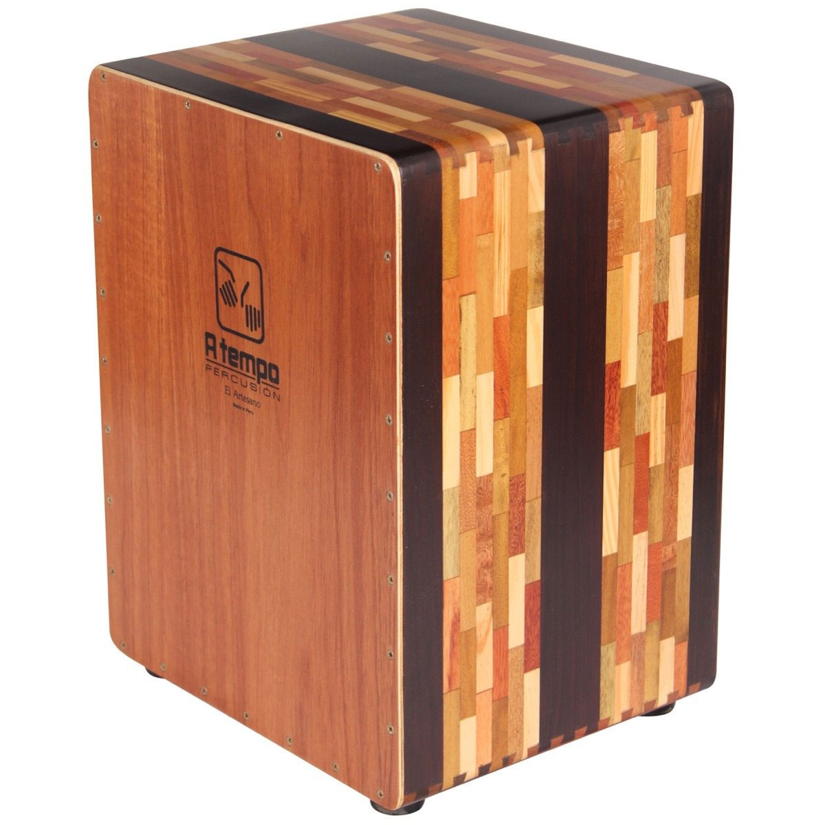 A Tempo Percussion El Artesano Cajon with FREE Bag