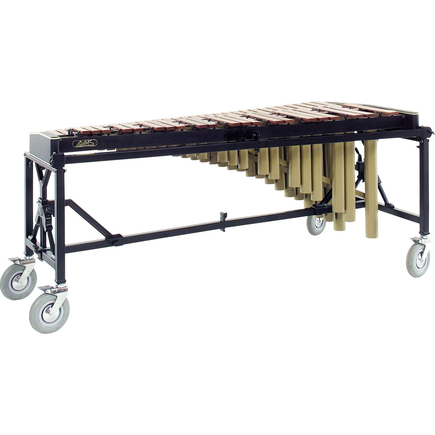Adams 4.3 Octave Artist Series Synthetic Marimba on Endurance Field Frame with Black Leather Rails