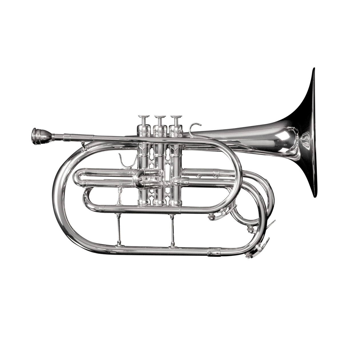 Adams Marching Brass Series F Mellophone with Case