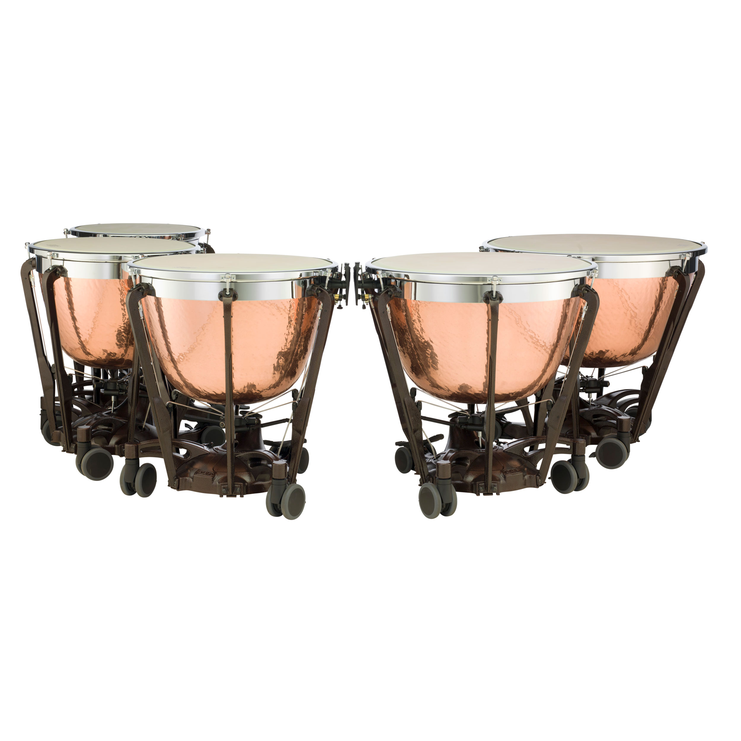 "Adams 20/23/26/29/32"" Professional Gen II Hammered Cambered Copper Timpani w/Fine Tuners"
