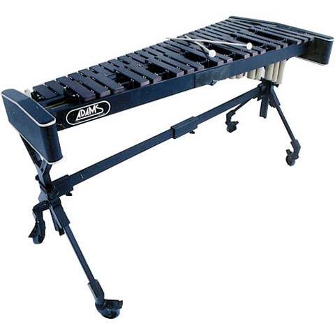 Adams 3.5 Octave Soloist Series Zelon Synthetic Xylophone with Voyager Frame