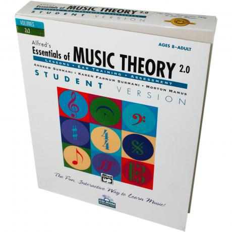 Essentials of Music Theory,  Volumes 2 & 3 CD-ROM