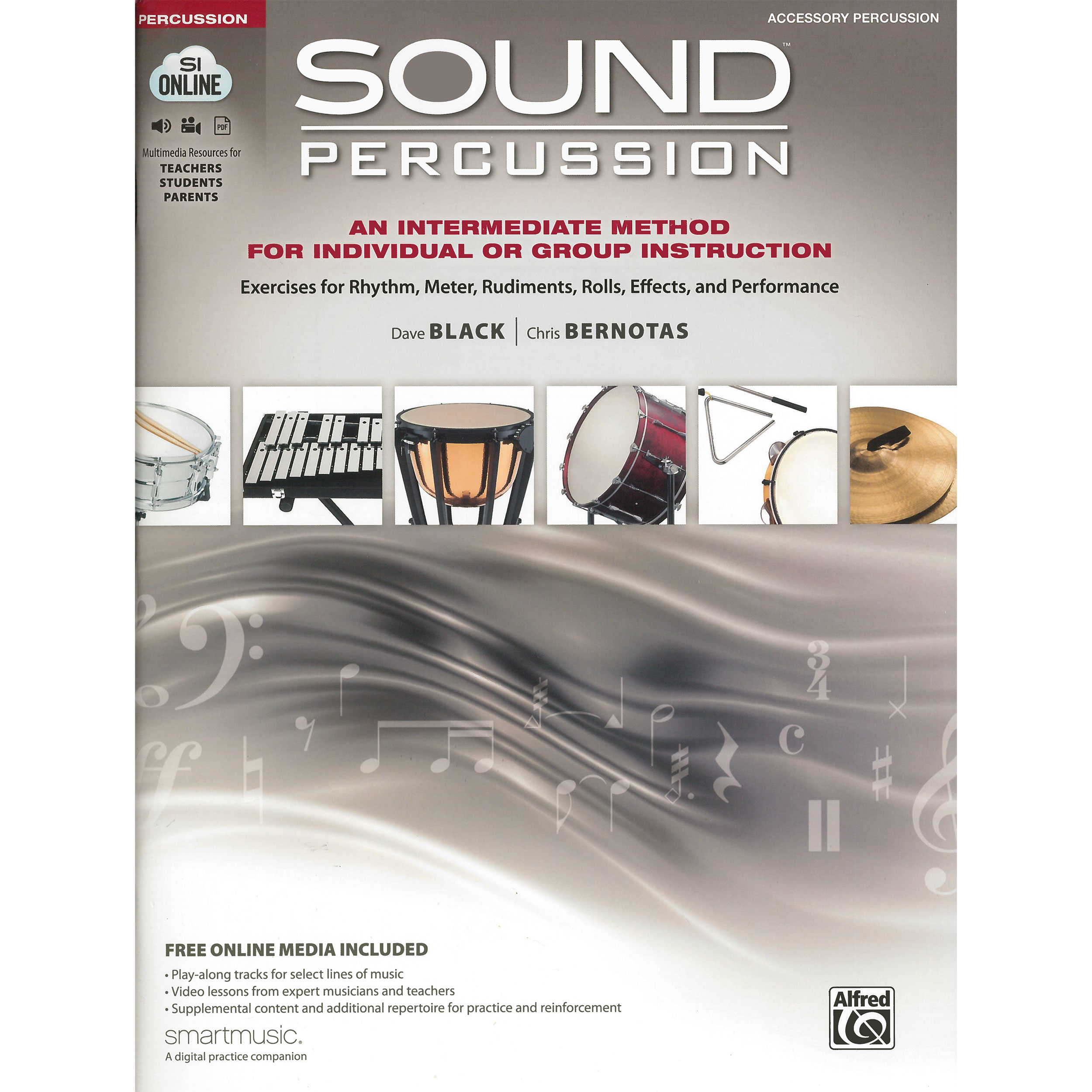 Sound Percussion by Dave Black and Chris Bernotas (Accessory Percussion)