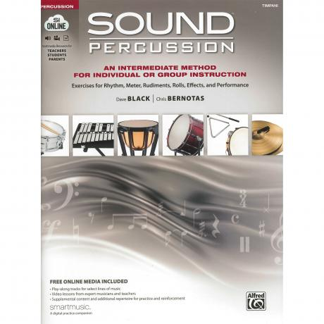 Sound Percussion by Dave Black and Chris Bernotas (Timpani)