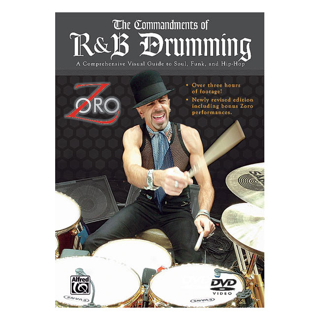 The Commandments of R&B Drumming DVD - Zoro