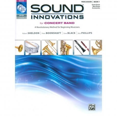 Sound Innovations for Concert Band - Percussion Book 1 by Sheldon, Boonshaft, Black, and Phillips