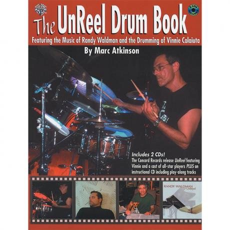 The UnReel Drum Book by Marc Atkinson