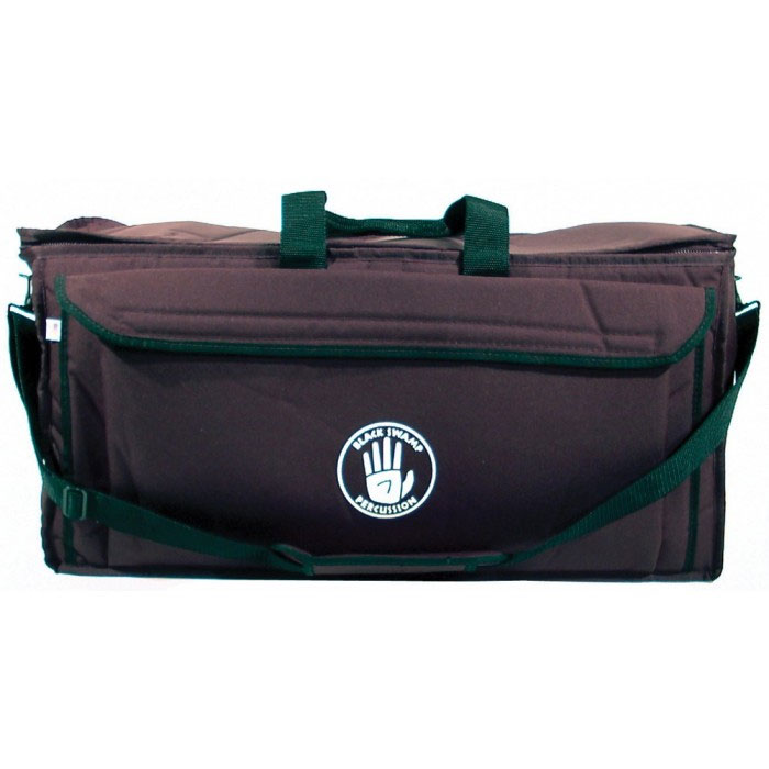 "Black Swamp 24"" x 10"" x 12"" Black Gear Bag"