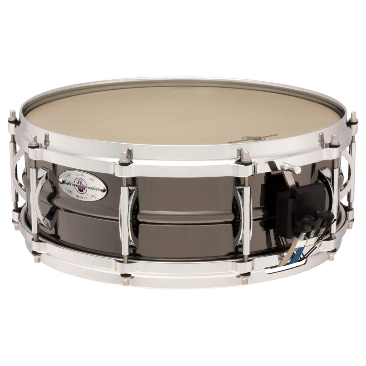 "Black Swamp 5"" x 14"" SoundArt Brass Concert Snare Drum"