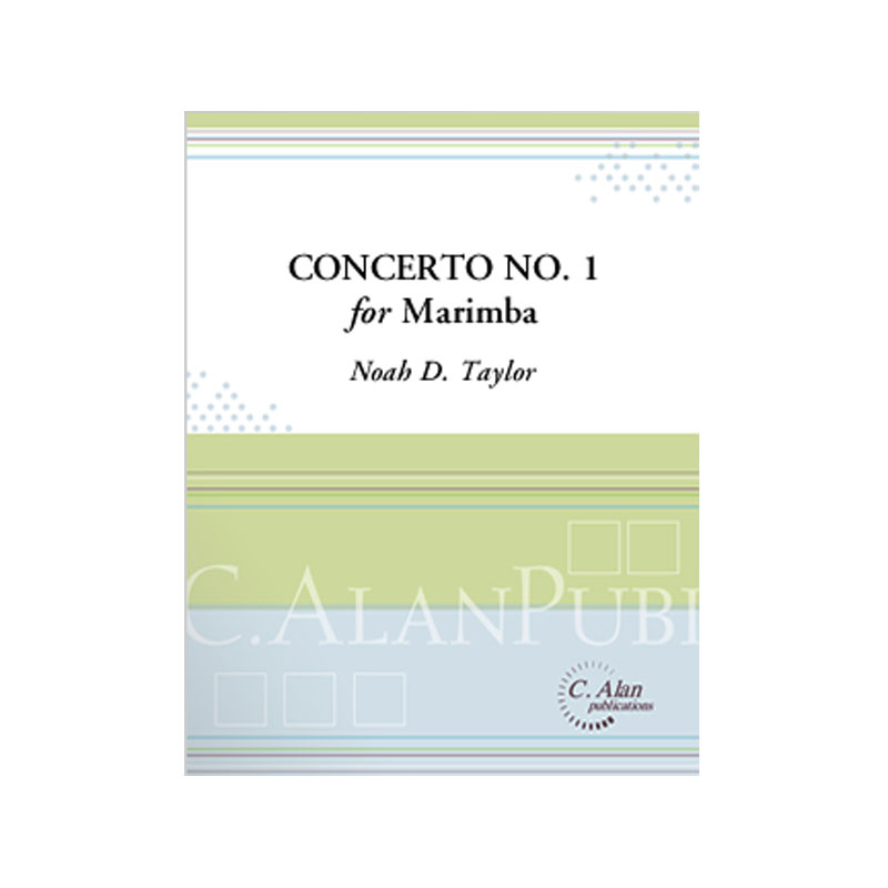 Concerto No. 1 in D Minor for Marimba (Piano Reduction) by Noah D. Taylor
