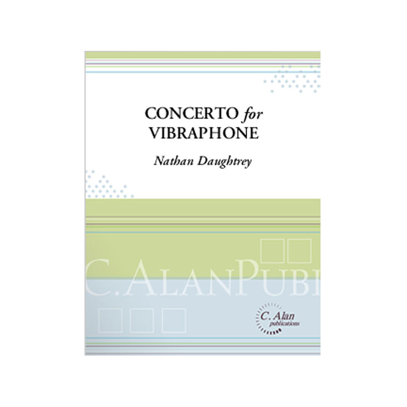 Concerto for Vibraphone (Piano Reduction) by Nathan Daughtrey