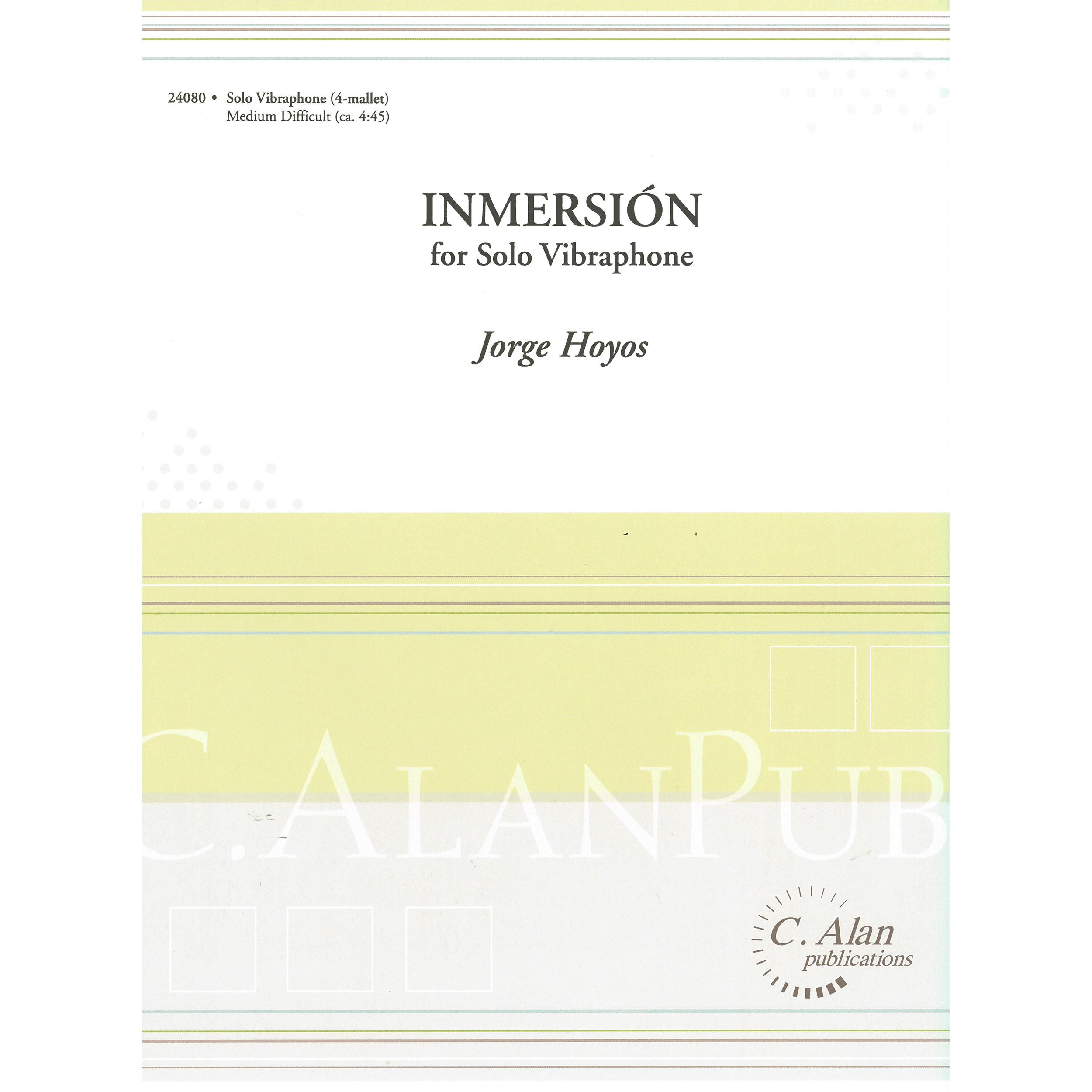 Inmersion by Jorge Hoyos