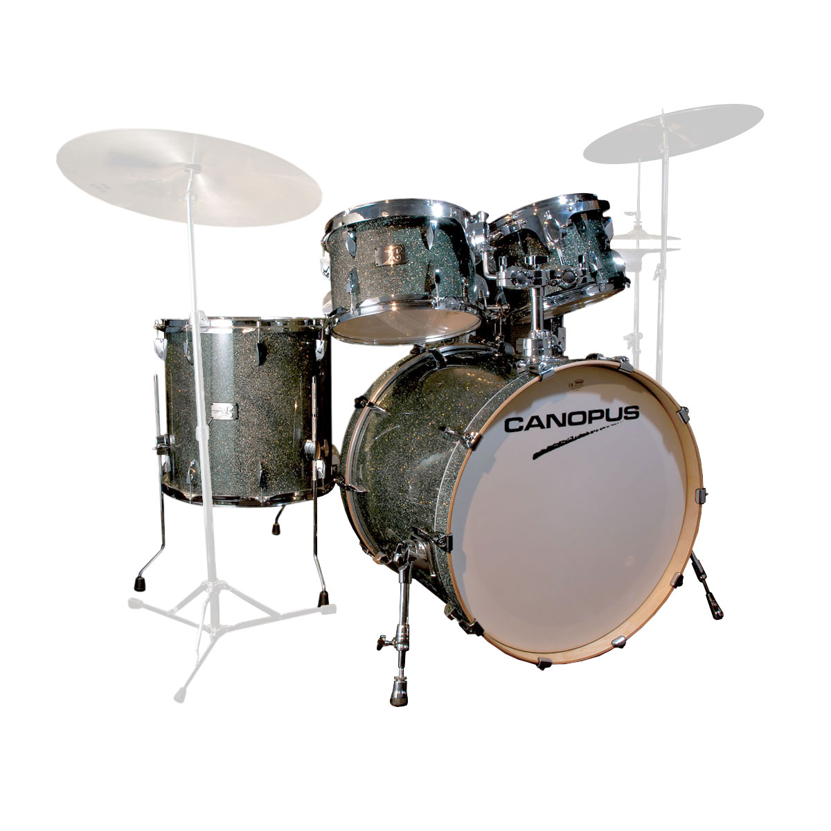 "Canopus Yaiba ""Groove Kit"" 5-Piece Drum Set Shell Pack (22"" Bass, 10/12/16"" Toms, 14"" Snare)"