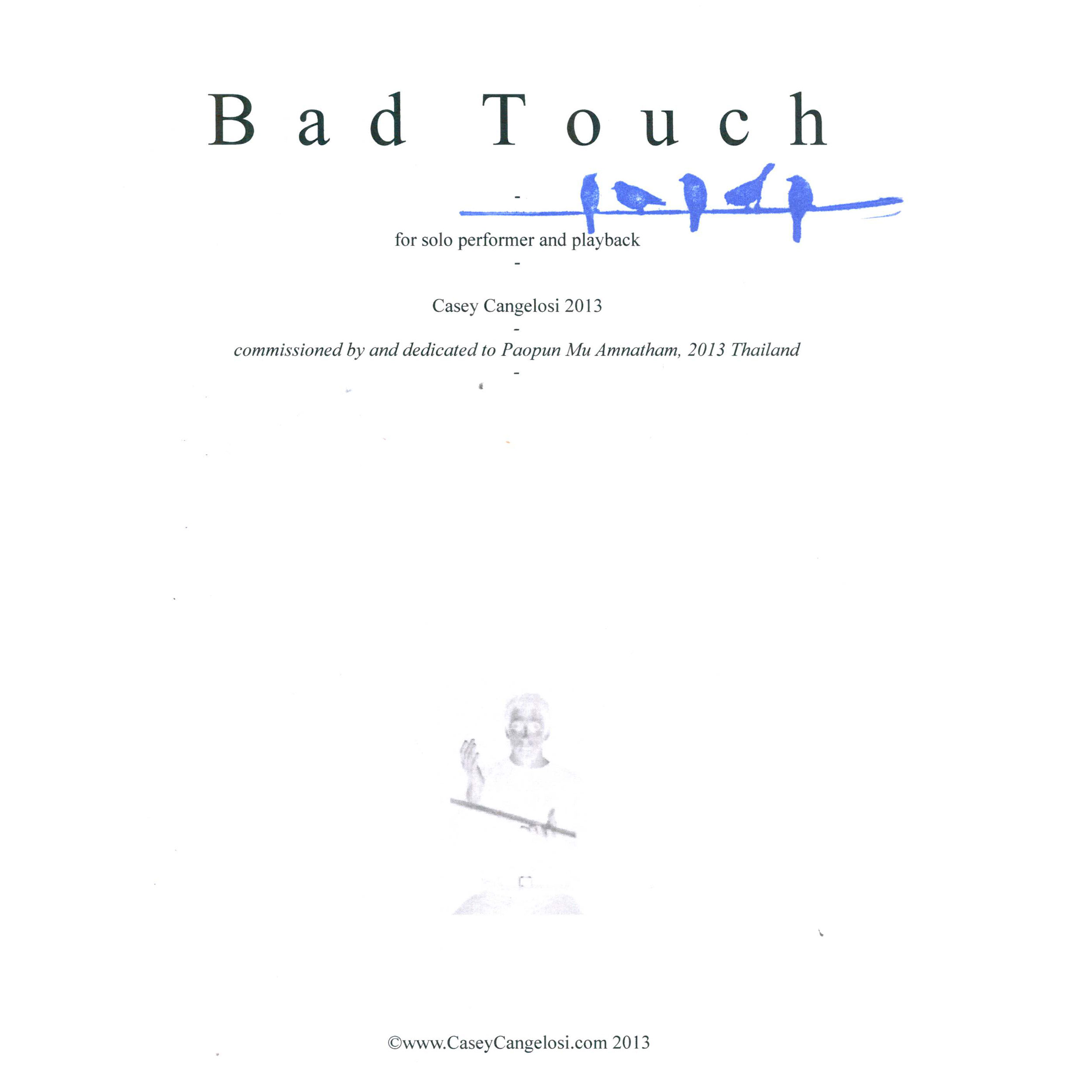 Bad Touch by Casey Cangelosi