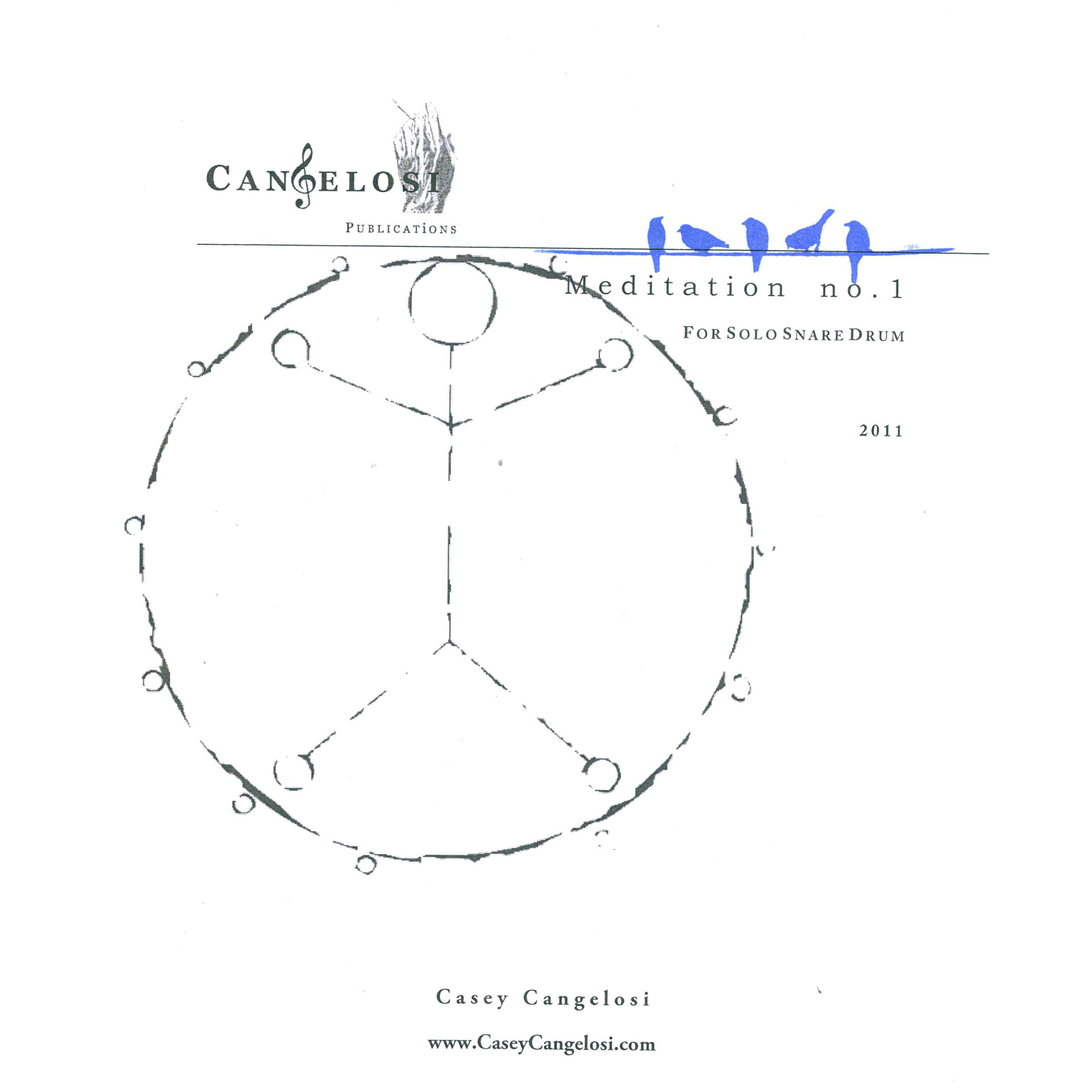 Meditation No 1 By Casey Cangelosi Snare Drum Solo Diagram Undefined
