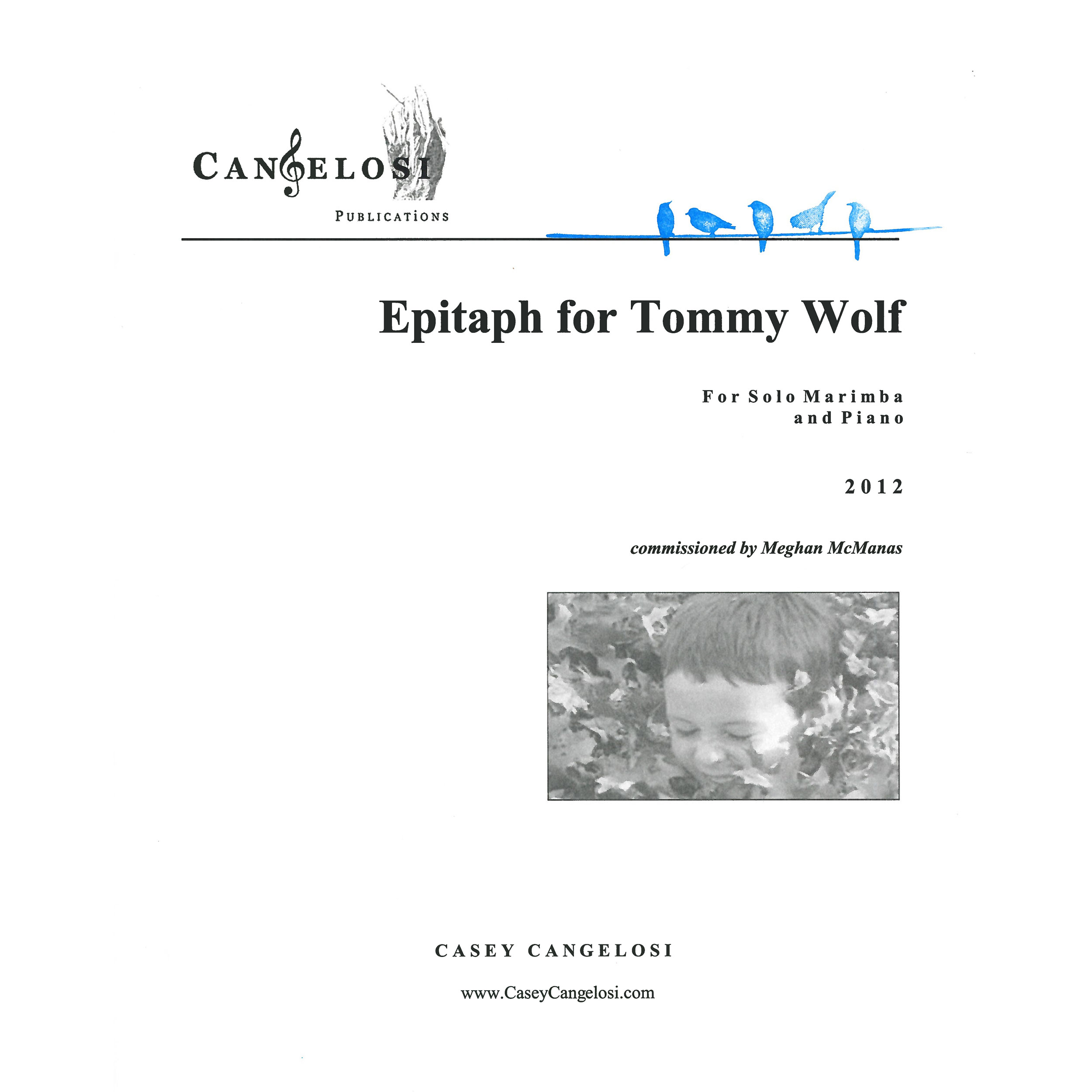 Epitaph for Tommy Wolf by Casey Cangelosi