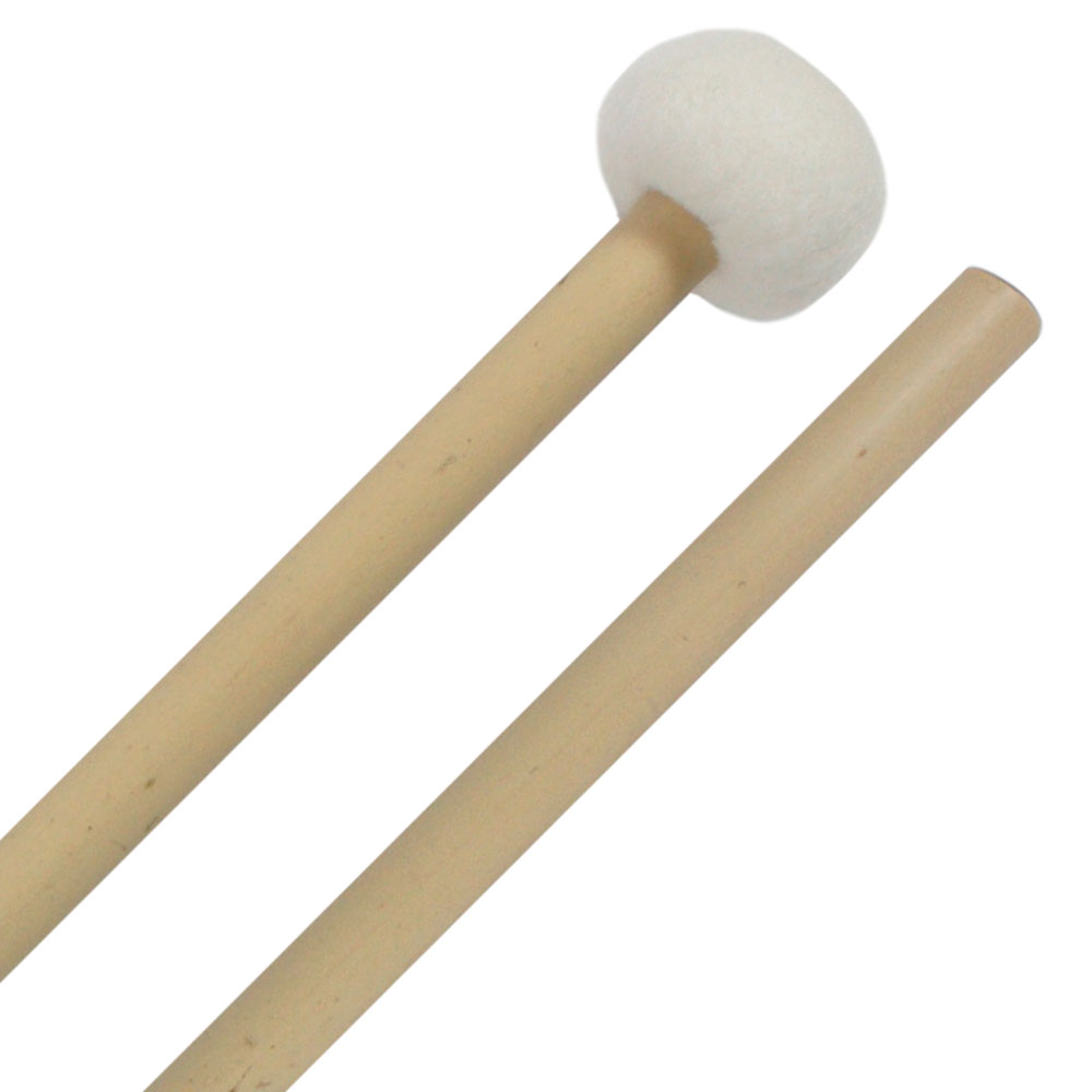 Clevelander Ultra-Hard Timpani Mallets, Bamboo Handle