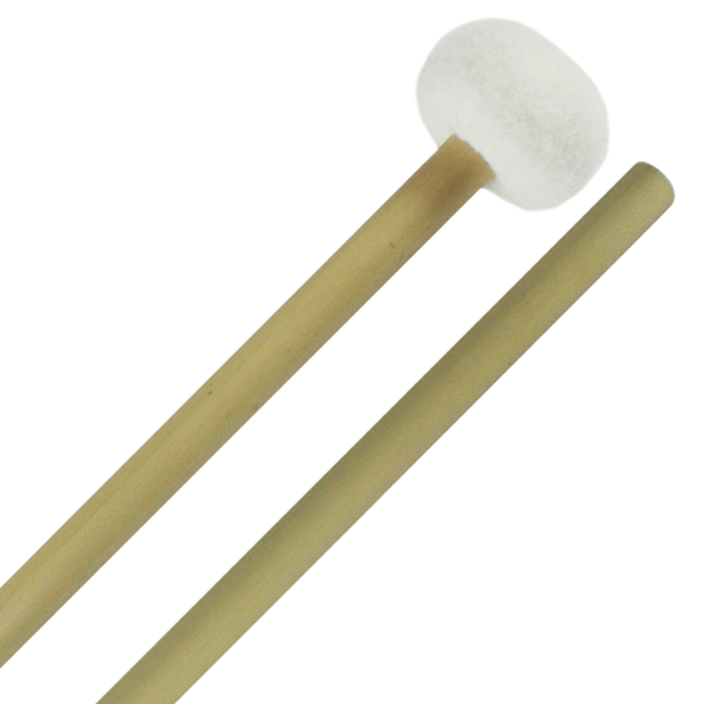 Clevelander Medium Classic Ball Timpani Mallets, Bamboo Handle