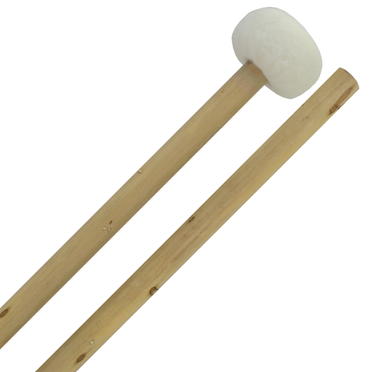 Clevelander Large Classic Ball Timpani Mallets, Bamboo Handle