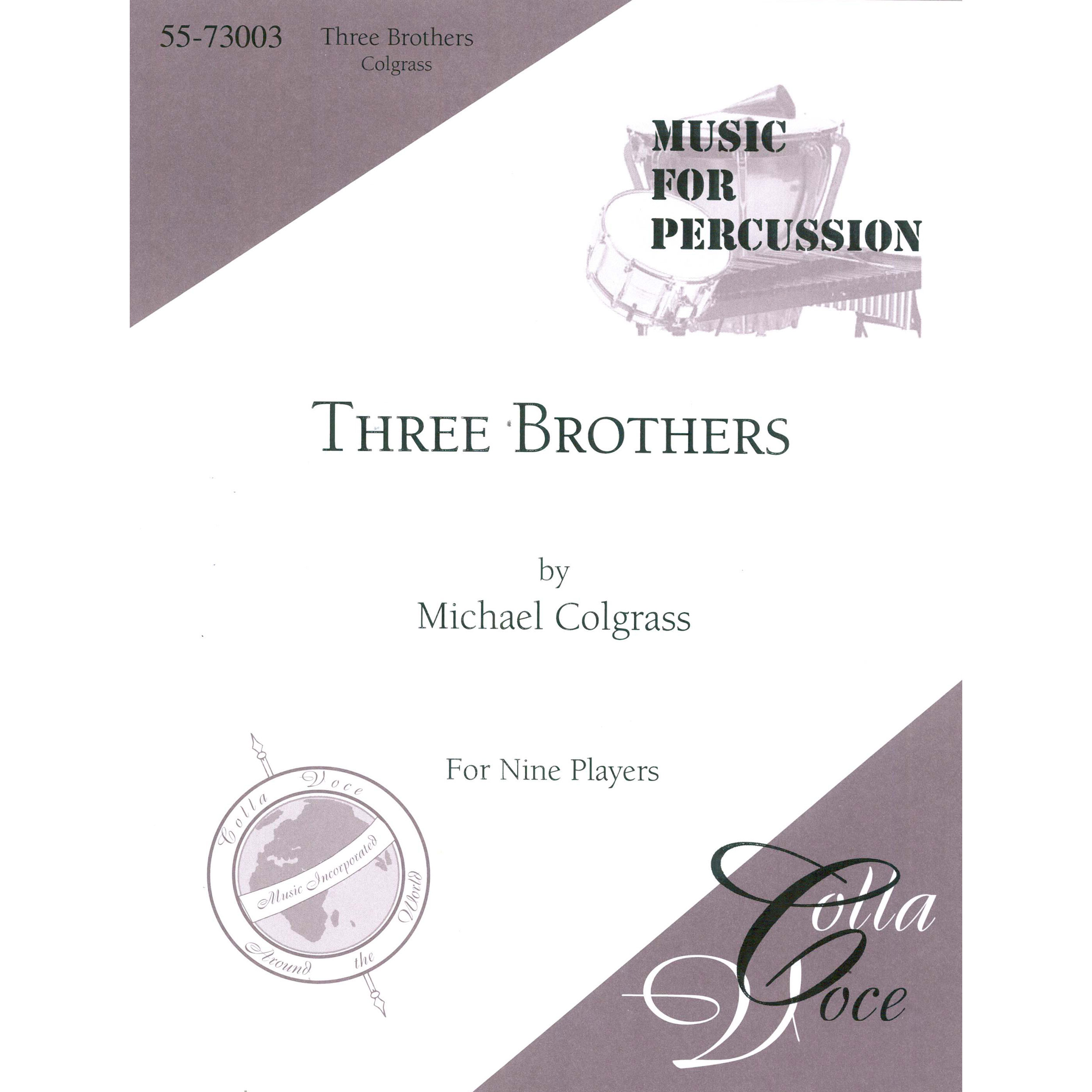 Three Brothers by Michael Colgrass