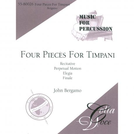 Four Pieces for Timpani by John Bergamo