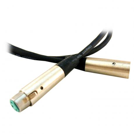 Conquest 10' Medium Heavy Microphone Cable with Neutrik Connectors