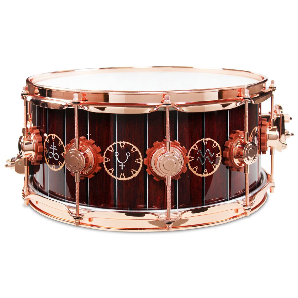 "DW 6.5"" x 14"" Neil Peart Time Machine Snare Drum"