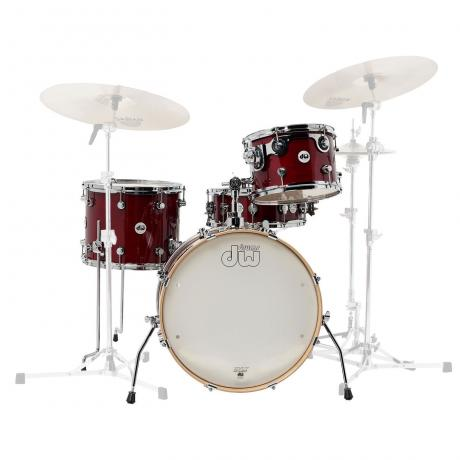 DW Design Frequent Flyer 4-Piece Drum Set Shell Pack (20