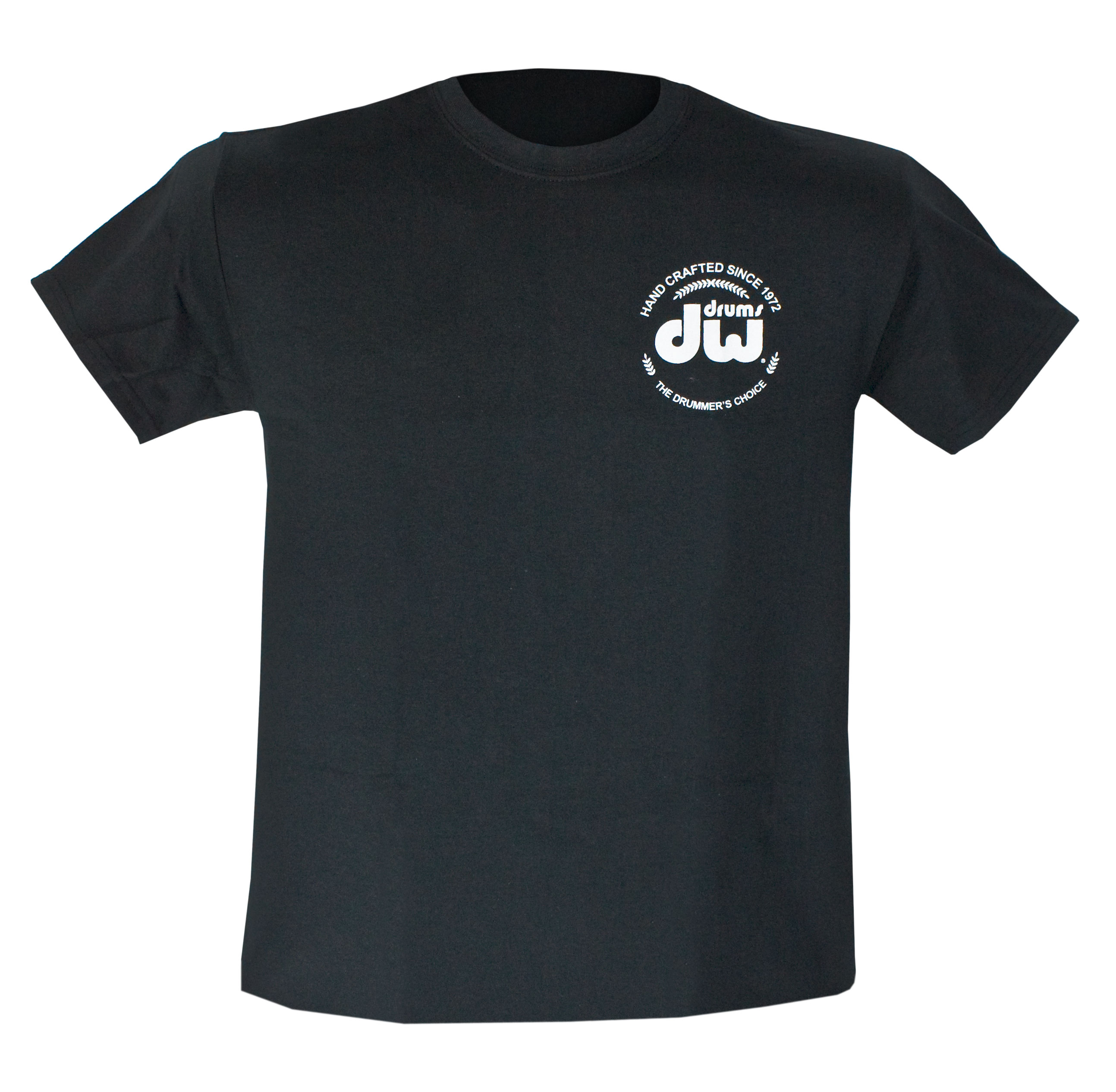 DW Black Heavy Cotton Short Sleeve Logo T-Shirt