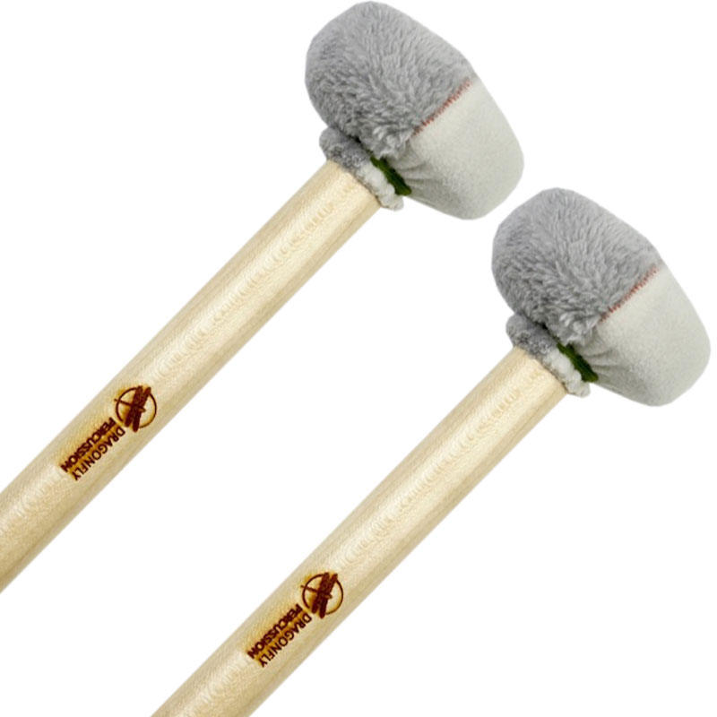 Dragonfly Percussion Mahler 3 Bass Drum Mallets (Pair)