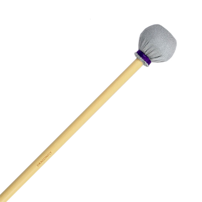 Dragonfly Percussion Extra Hard Marimba Mallets with Rattan Handles