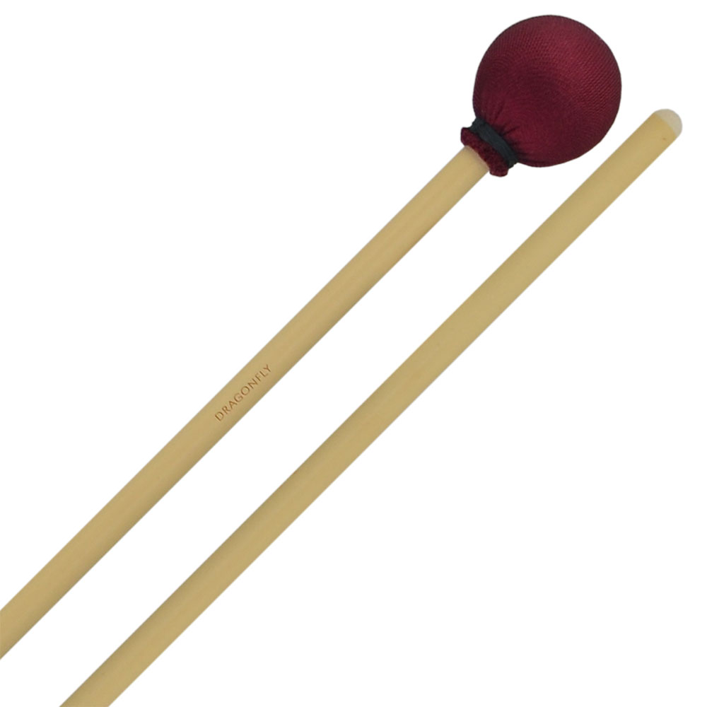 Dragonfly Percussion Soft Vibraphone Mallets with Rattan Handles