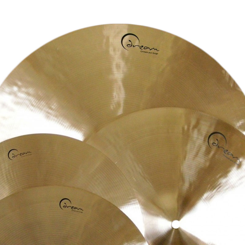Dream Ignition Series 4-Piece Cymbal Box Set (Hi Hats, 2 Crashes, Crash/Ride) with FREE Bag